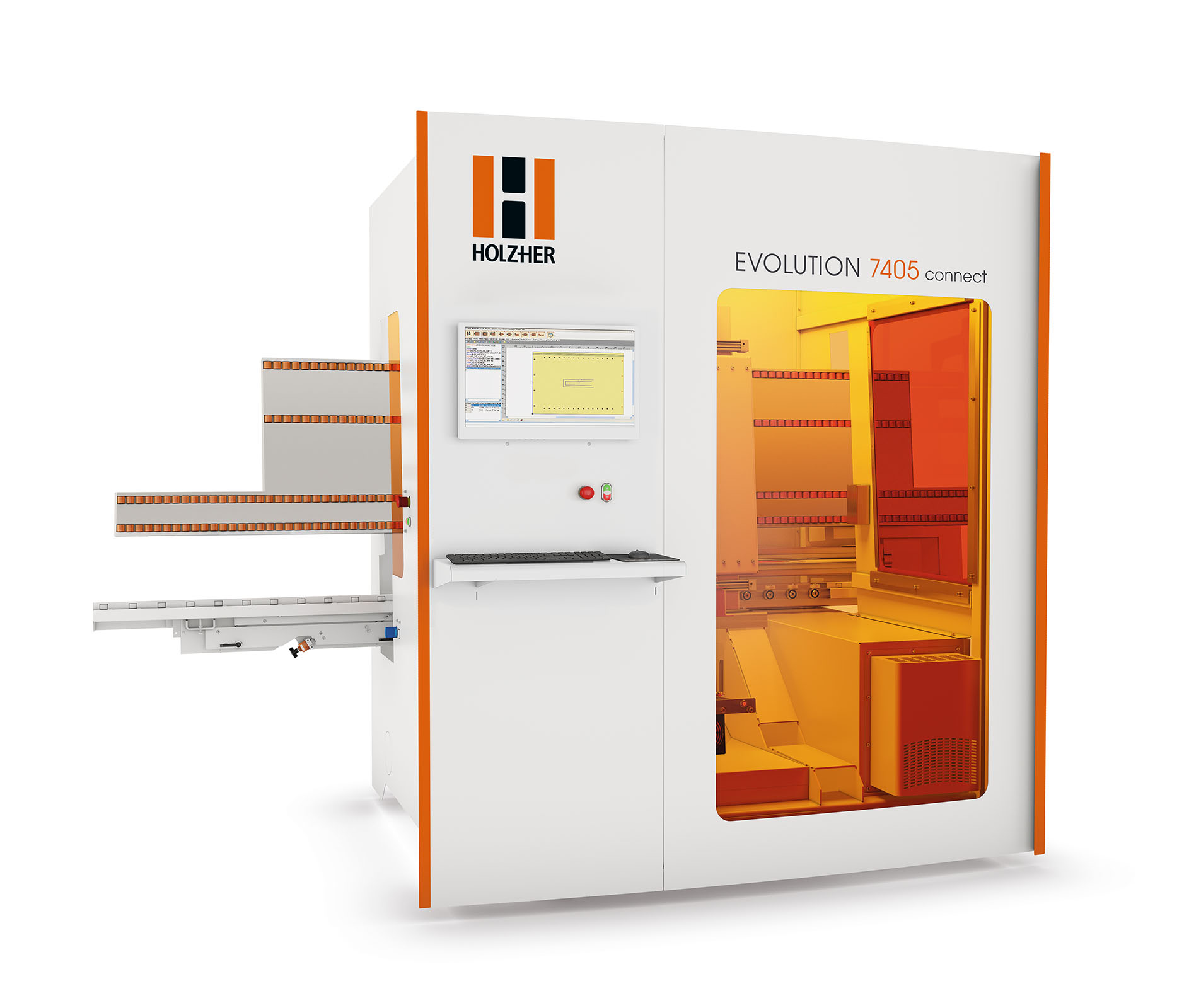 CNC HolzHer Evolution 7405 4mat Connect